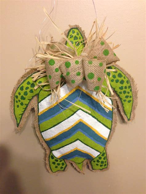 burlap craft projects sea turtle burlap craft project crafts