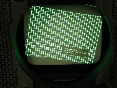 crt projector yoke adjustments