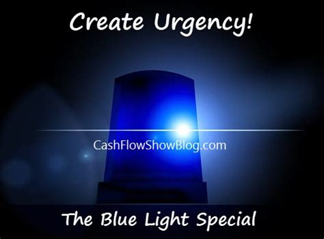 Learn How A Blue Light Special To Create Bookings