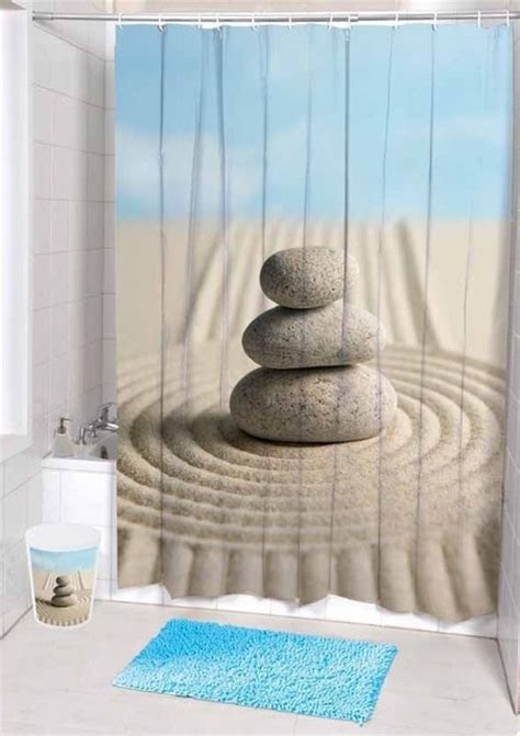 Unique Fabric Shower Curtains Unique Desert Landscape Stones Fabric Shower Curtain Tropical Shower Curtains By Sinofaucet