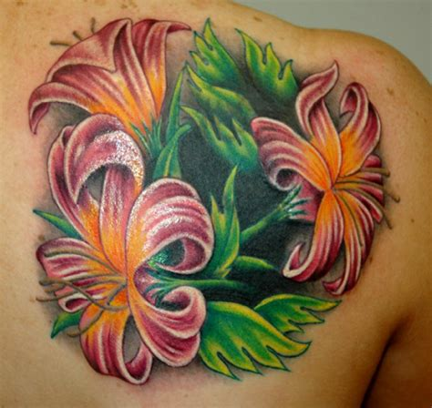 exotic flower tattoos flower designs design idea