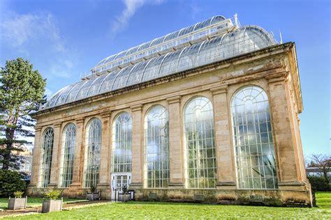 royal botanical gardens edinburgh snow