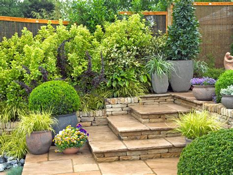 easy backyard garden ideas simple landscaping ideas hgtv