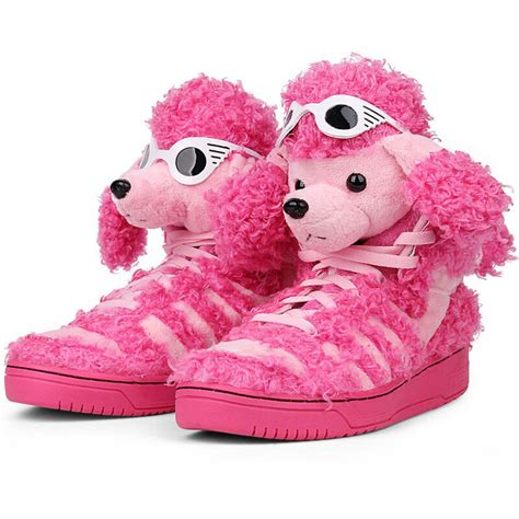 adidas by js poodle poodle pink shoes trainers pink ebay