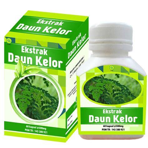 kapsul ekstrak daun kelor toganusantara 1 toko herbal