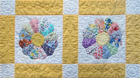 Dresden Plate Quilt Pattern by Vintage Dresden Plate Quilt Q Is For Quilter