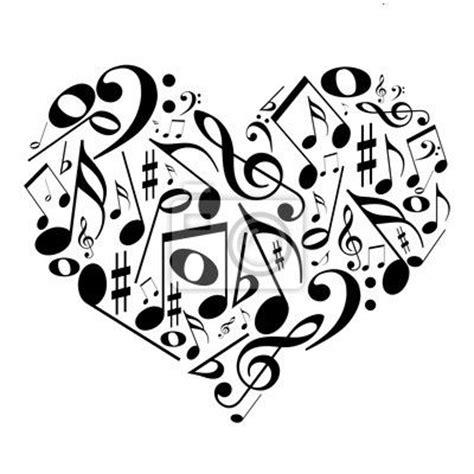 imagenes de corazones musicales m 225 s de 1000 ideas sobre notas musicales en pinterest