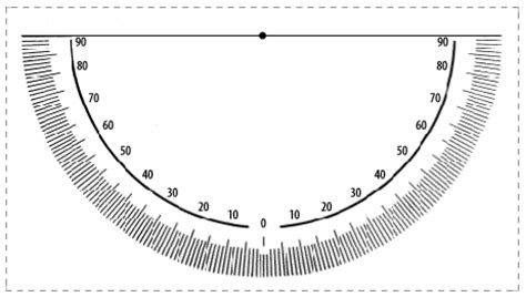 printable 6 inch protractor printable 8 inch protractor template images keep healthy