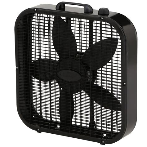 high velocity box fan 20 in high velocity floor fan sfc1 500b the home depot