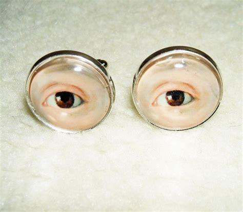 Sandal Wanita New Era Lb 829 eye cuff links unisex cufflinks vintage inspired renaissance georgian