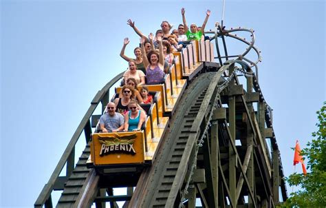 theme park with most roller coasters amusement parks and theme parks in pennsylvania