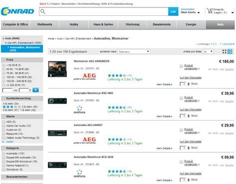 Auto Online Kauf by Wo Autoradio Auf Rechnung Online Kaufen Bestellen