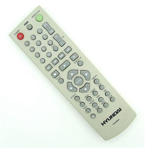 Original remote control Hyundai DV2X709DU DVD Player Pilot