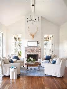 White Wood Living Room Furniture How To Get The Fixer Upper Look In Your Home Jenna Burger