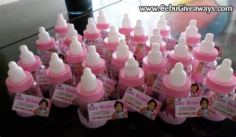 Feeding Bottle Giveaways - christening giveaways cebu giveaways personalized items party souvenirs