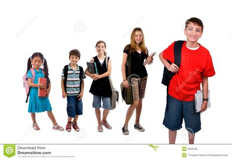 Royalty Free School Children Stock by School Stock Image Image Of Backpack Learn