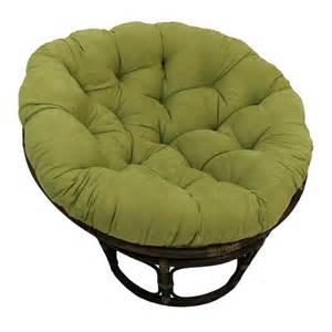 Large Papasan Cushion Rattan Papasan Chair With Microsuede Cushion Ebay