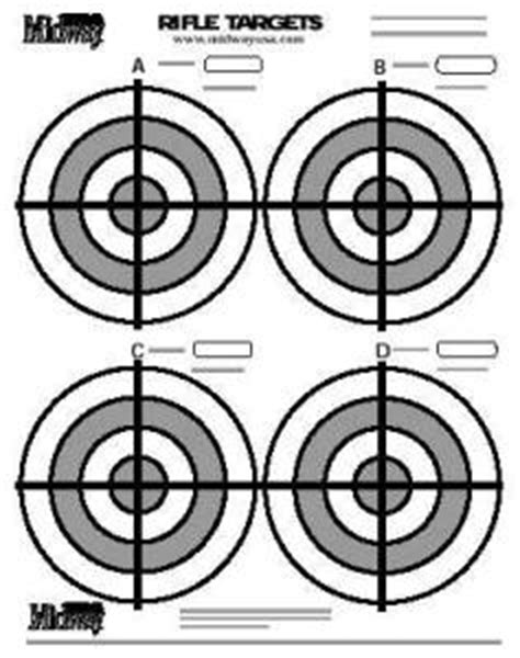printable targets midway holleman blog hunting targets