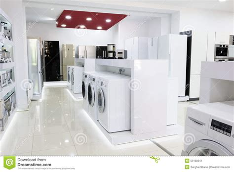 home appliance in the store stock photo image 55160341