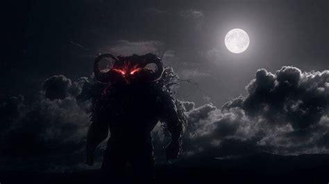 demon clouds moonlight red eyes dark dahaka prince