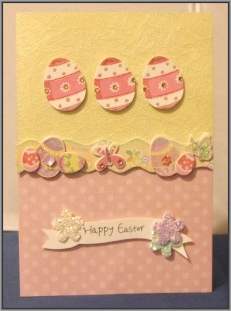 Handmade Easter Cards - easter cards diy handmade easter greetings card cards