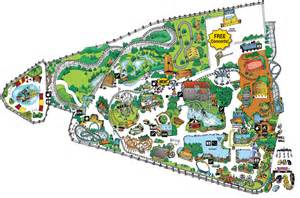 City Of Map Park Map Frontier City