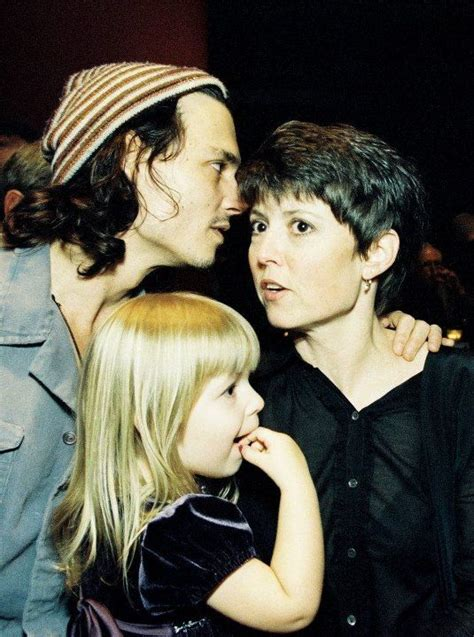 johnny depp vanessa paradis tattoo johnny and his sister christie and his niece megan depp