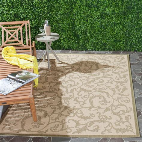 safavieh cy0901 1e01 courtyard indoor outdoor area rug lowe s canada safavieh courtyard olive 4 ft x 5 ft 7 in indoor outdoor area rug cy2653 1e01 4 the