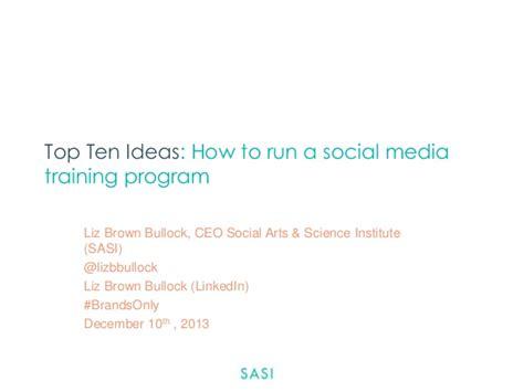 how to run maxbounty caigns on social media best method 2017 top ten ideas how to run a social media training program