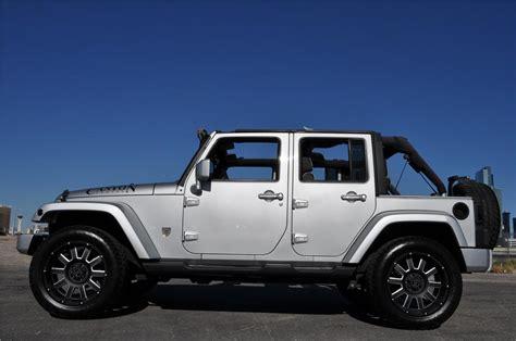 jeep unlimited custom 2007 jeep wrangler unlimited custom suv 170618