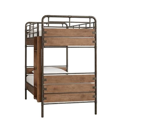 pottery barn kids bunk beds owen twin over twin bunk bed pottery barn kids