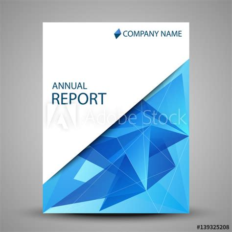 annual report cover page design sles annual report cover in abstract design buy this stock