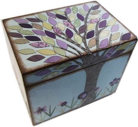 Decoupaged Boxes - 17 best images about decoupage boxes on