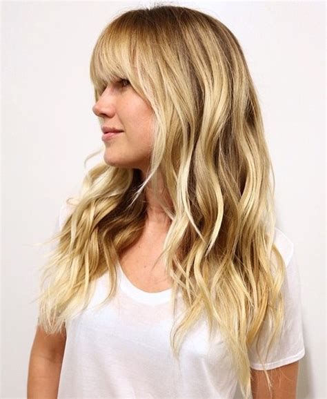hairstyles with long bangs crossword 50 cute long layered haircuts with bangs 2018