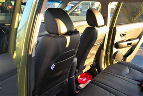 2010 Kia Soul Seat Covers Kia Soul 2010 2015 Iggee S Leather Custom Fit Seat Cover