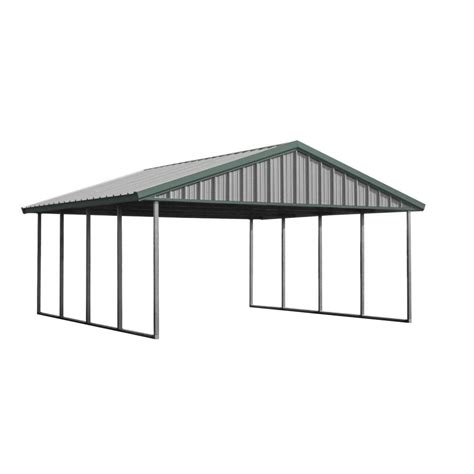 pws premium canopy 20 ft x 20 ft light and patina