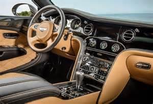 new interior for cars bentley reveals new 2015 mulsanne speed machinespider