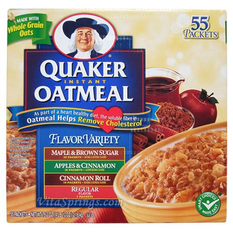 Quaker Oatmeal Instan eat this everyday 1 2 cup organic steel cut oatmeal om
