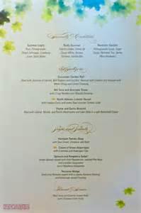 enchanted garden menu disney fantasy the disney cruise line blog