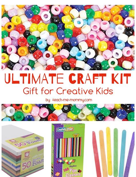 crafting kits for the ultimate craft kit for creative teach me