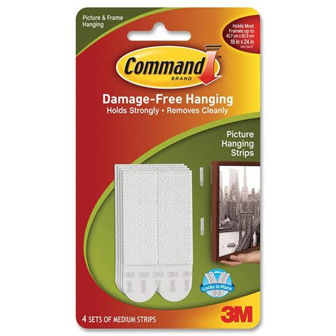 3m command adhesive picture hanging strips the container 3m command picture hanging strips medium cos complete