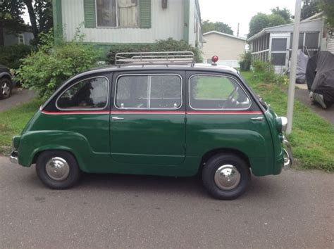 fiat multipla for sale 1957 fiat 600 multipla for sale fiat multipla 600 1957
