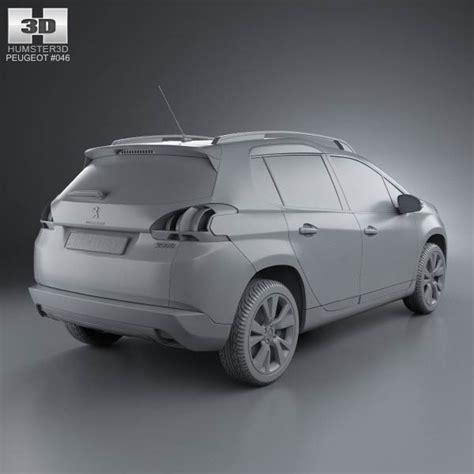 peugeot 2013 models peugeot 2008 2013 3d model hum3d