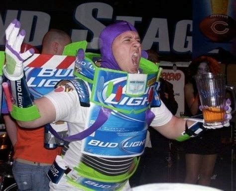 Bud Light Costume by Buzz Light Costumes Bud Light Light