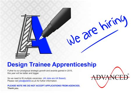 design apprenticeships design trainee apprenticeship vacancy ade ltd
