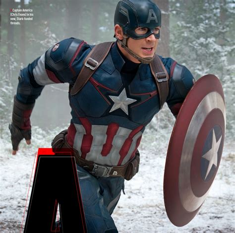 Captain America Age Of Ultron Age Of Ultron Images Feature Cap S New Costume