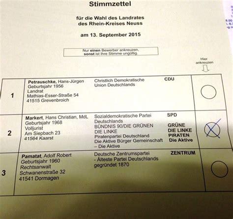 Antrag Briefwahl Neuss Hans Christian Markert Jetzt Schon W 228 Hlen Hans Christian Markert