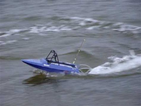 rc jet airboat jet sprint rc boat tear into youtube
