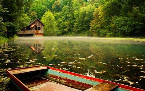 lake cabin lake cabin wallpaper wallpapersafari