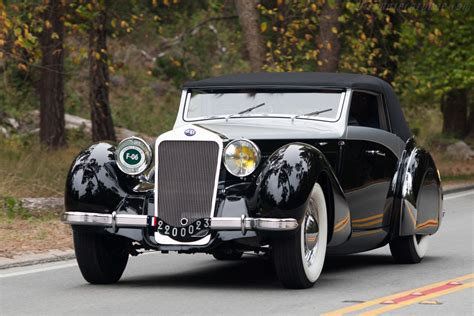 delage    saoutchik cabriolet images specifications  information